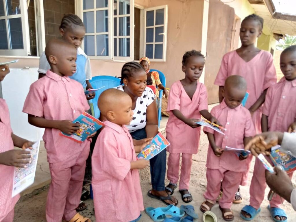 Orphanage aid