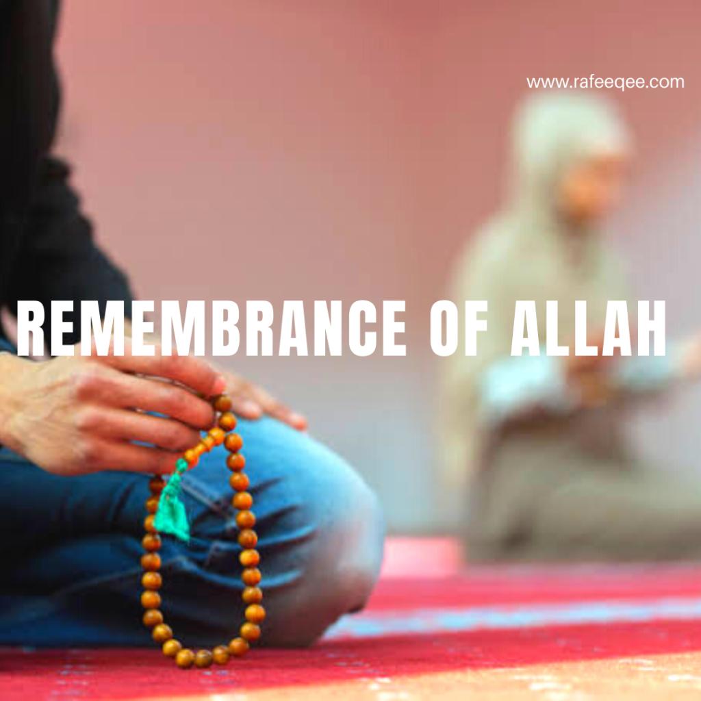 Rememberance of Allah